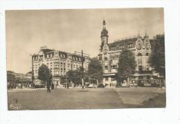 Cp , 59 , VALENCIENNES , Place De La Gare , Café , Automobiles , Vierge , Ed : Combier - Valenciennes