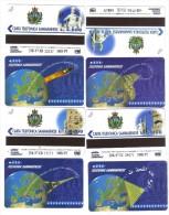 Telefonia Sammarinese 2000-3000-5000-10000 Lire Nuove Cod.schede.06 - San Marino