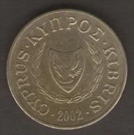 CIPRO 10 CENTESIMI 2002 - Cipro