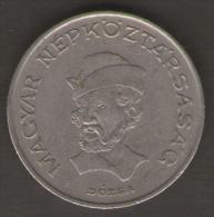 UNGHERIA 20 FORINT 1984 - Ungheria