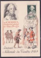 France Journée Du Timbre 1949 - Troyes - ....-1949