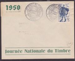 France Journée Du Timbre 1950 - Paris - 1950-1959