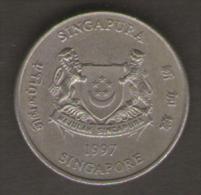 SINGAPORE 20 CENTS 1997 - Singapore