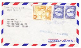 Guatemala 29.7.19?? Flugpost Brief In Die Schweiz - Guatemala