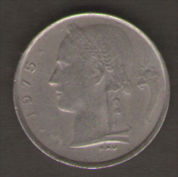BELGIO 1 FRANCO 1975 - 1951-1993: Baldovino I