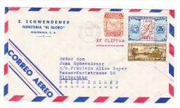 Guatemala 23.11.1948 Flugpost Brief Nach Winterthur - Guatemala