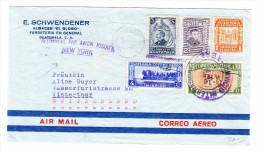 Guatemala 12.2.1947 Flugpost Brief Nach Winterthur Schweiz - Guatemala