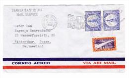Guatemala 7.8.1952 Flugpost Brief Nach Winterthur Schweiz - Guatemala
