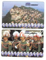 SAN MARINO Telefonia Sammarinese 8000+18000 Lire 01 09 1994 Nuove Cod.schede.08 - San Marino