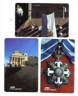 SAN MARINO Telefonia Sammarinese 3000+8000+18000 Lire 01 09 1995 Nuove Cod.schede.09 - San Marino