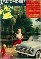 Revue  Automobile (L´) 144 Avril 1958 Dyna Panhard  Sunbeam Rapier  Vanwall - Auto/Moto
