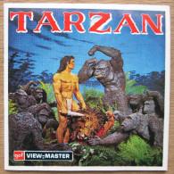 """View-Master """"Tarzan 1968""""    (Compleet Met 3 Schijven & Boekje) - Sammlungen"""