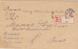 LETTRE RECOMMANDEE  --   DARDA, BARANYA, CROATIA  --  1897  --  RRR - Croatia