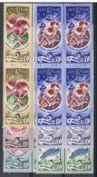 RUS-18 - RUSSIE N° 4404/09 En Blocs De 4 Neuf** - Thème Espace - 1923-1991 USSR