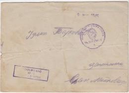 BRIEF MIT INHALT   --  VOJNA POSTA 36. DIVIZIJE    --  9. 8. 1945.  --  CENZURA  --  EXTREMELY RARE - Jugoslawien