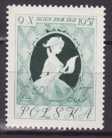 Poland 1957. Stamp Day, MNH (**), Mi 1030 LUX - Unused Stamps