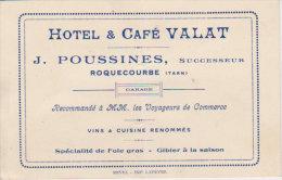 H�tel Caf� Valat -  Roquecourbe - (  Castres )