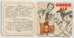 Ginder Ale    - Gerechten  -Toast - Sous-bocks