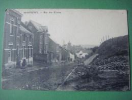 HENNUYERES ( BRAINE - LE -COMTE ) --- 1914 --- Rue des Ecoles ( rue de la Butte )