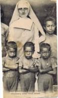 Cpa SOEUR MISSINNAIRE ECOLE DE Yule - Papua New Guinea