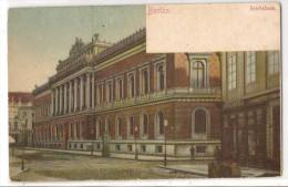 BERLIN - REICHSBANK - Unused POSTKARTE C/1900´s - Allemagne