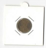 50 Lepta 1978 MPOTSARIS (Greece, Grece, Griechenland, Griekenland, Grecia, Drachmai Coin) - Greece