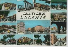 Saluti Dalla Lucania Vedute Salandra Montalbano Stigliano Nova Siri S. Martino Agri S.arcangelo Tramutola Potenza Matera - Unclassified