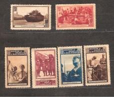 Vignettes ASOCIACION DE LOS AMIGOS DE LA UNION SOVIETICA /*/ - Vignettes De La Guerre Civile