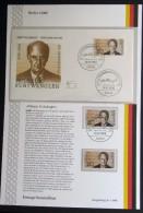 GERMANY / BERLIN 1986 - FIRST DAY- COLLECTION SHEET 1/1986 - WILHELM FURTWÄNGLER - [5] Berlin