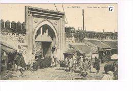 CPA ,Maroc- Tanger - Porte Dans Les Fortifications - (035) - Tanger
