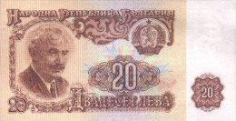 Bulgaria 20 Leva 1962 Pick 92 UNC - Bulgarie