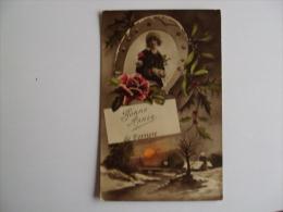 BONNE ANNEE De FORRIERE  -  Verst.1922 - Nassogne