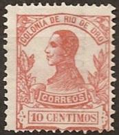 RIO DE ORO (Spanish Sahara) 1912 Ed, 68 MH - Rio De Oro