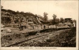 01 - SAULT-BRENAZ - Carrière - France