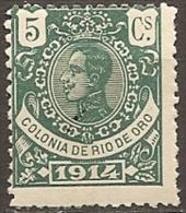 RIO DE ORO (Spanish Sahara) 1914 Ed, 80 MH - Rio De Oro