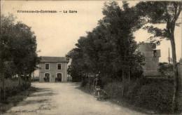 17 - VILLENEUVE-LA-COMTESSE - Gare - Autres Communes