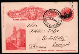 A3273) Uruguay Postcard From Montevideo 19.11.1911 To Unterköditz / Germany - Uruguay
