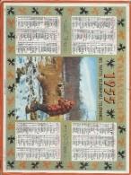 Calendrier/Postes Télégraphes Téléphones/Almanach/Le Dernier Regard/Oller/1955     CAL224 - Grossformat : 1941-60