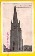 STUIVEKENSKERKE : TOREN KERK VAN OUDSTUYVEKENSKERKE IN 1914 Deelgemeente Van DIKSMUIDE Tour Eglise        088 - Diksmuide