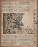 Calendrier/Postes Télégraphes /Almanach/Chasse à Courre/En Défaut//1923   CAL226 - Calendars