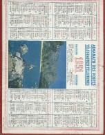 Calendrier/Postes Télégraphes  Téléphones /Almanach/La Prise Sera-t-elle Belle?//1951  CAL227 - Grossformat : 1941-60
