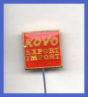 Pins Kovo Import Export Distintivi Trasporti - Pin's