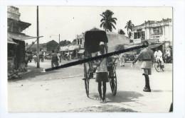 Carte Photo - Sri Lanka - Pousse Pousse - Rickshaw Ceylan - Sri Lanka (Ceylon)