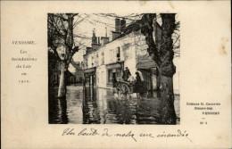 41 - VENDOME - Inondations 1910 - Vendome
