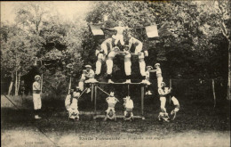41 - FOSSE - Etoile Fosséenne - Pyramide - Gymnastique - France