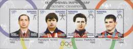 Armenia 2012. Sport. Olympic Champions SS Block Mnh** - Arménie