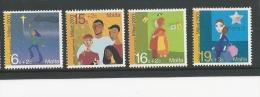 Malta 2001 SG 1239-42 CHRISTMAS SET MNH - Malte