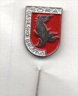 Pompieri Sora Gasilsko Drustvo Distintivi Vigili Del Fuoco Vatrogasci Cuerpo De Bomberos Fire Brigade Medvode Slovenia - Pompieri