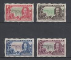 (S0439) SOUTHERN RHODESIA, 1935 (King George V. Silver Jubilee). Complete Set. Mi ## 32-35. Mint Hinged* - Südrhodesien (...-1964)