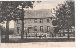 Gruß Aus Raden In Mecklenburg Gasthof Fischer Zwischen Güstrow + Teterow Bahnpost 20.8.1925 Gelaufen - Teterow